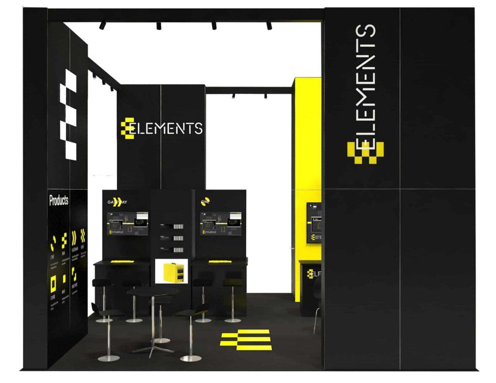 20x20 booth rental exhibit