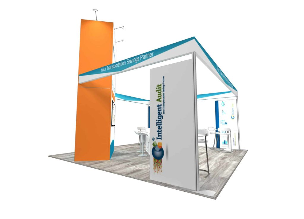 20x20 booth rental