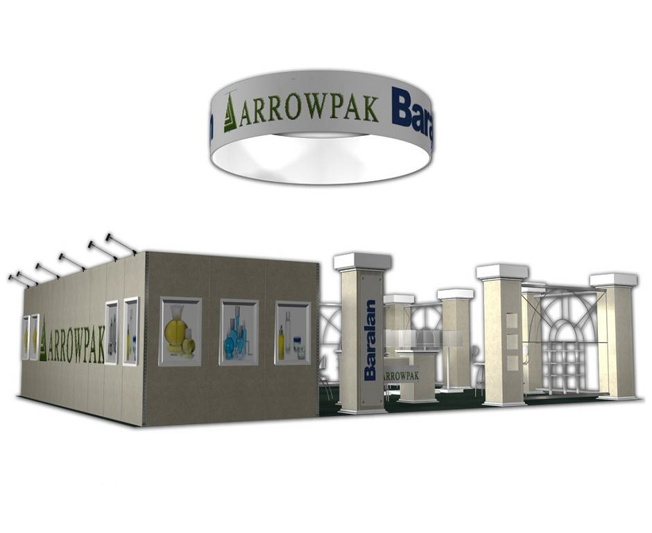 30x50 trade show booth