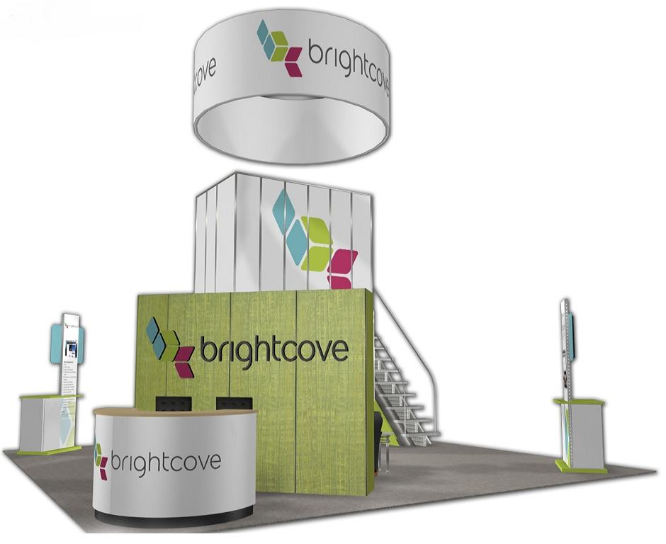 trade show booth rental 30x30