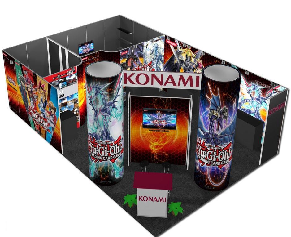 trade show exhibit rental 20x30