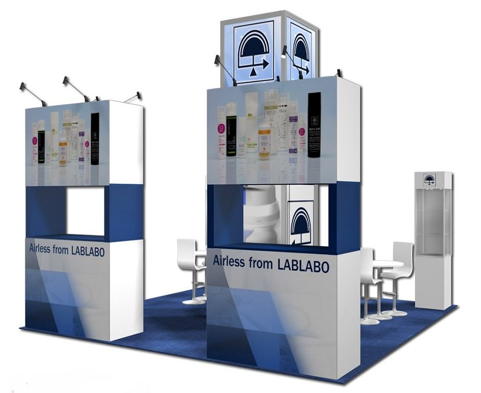 20x30 trade show rental exhibit