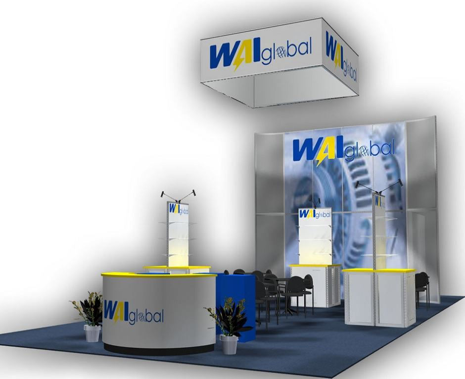 rental booth 20x40