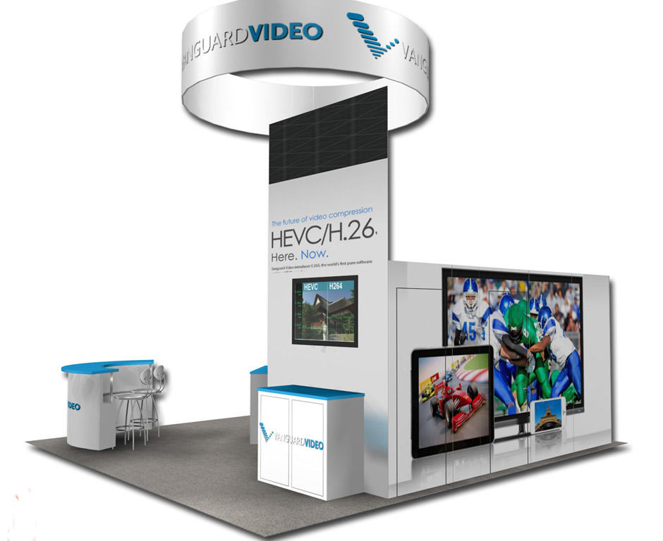 rental booth exhibit 20x20